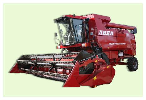 Комбайн зерноуборочный Лида-1300